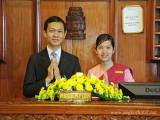 Warm Welcome from Angkor Hotel